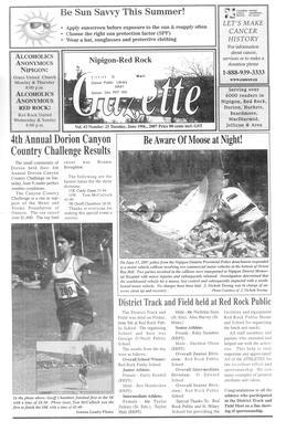 Nipigon Red-Rock Gazette, 19 Jun 2007