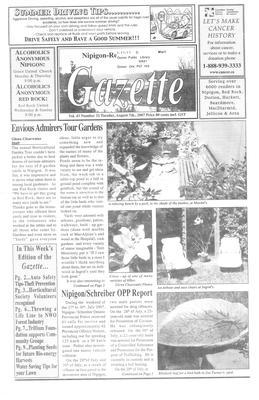 Nipigon Red-Rock Gazette, 7 Aug 2007