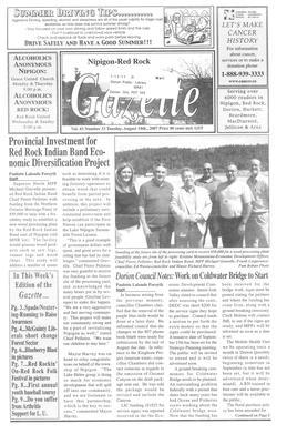 Nipigon Red-Rock Gazette, 14 Aug 2007