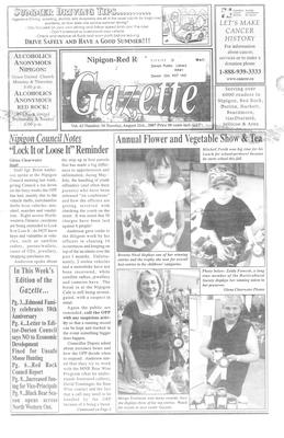 Nipigon Red-Rock Gazette, 21 Aug 2007
