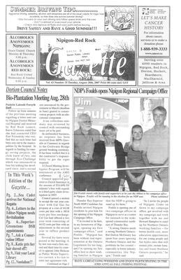 Nipigon Red-Rock Gazette, 28 Aug 2007