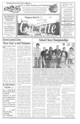 Nipigon Red-Rock Gazette, 25 Sep 2007