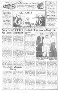 Nipigon Red-Rock Gazette, 2 Oct 2007
