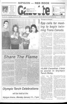 Nipigon Red-Rock Gazette, 5 Jan 1988