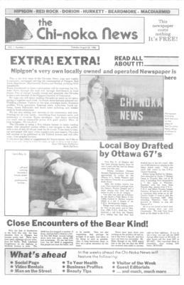 The Chi-Noka News (1986), 26 Aug 1986