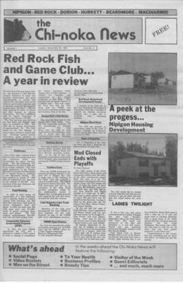 The Chi-Noka News (1986), 23 Sep 1986