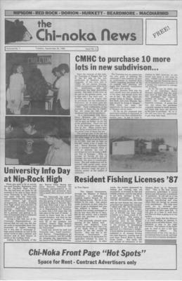 The Chi-Noka News (1986), 30 Sep 1986