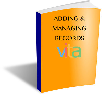 VITA Manuals: Adding & Managing Records