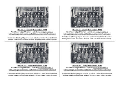 Haldimand County Digitization Day Flyer