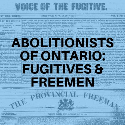 Abolitionists: Grades 9-10