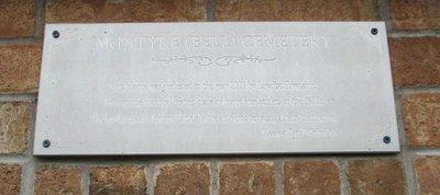 McIntyre's Corners Cemetery