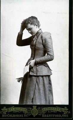 Mystery Photo: Unknown Young Woman