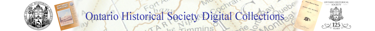 Ontario Historical Society Digital Collections