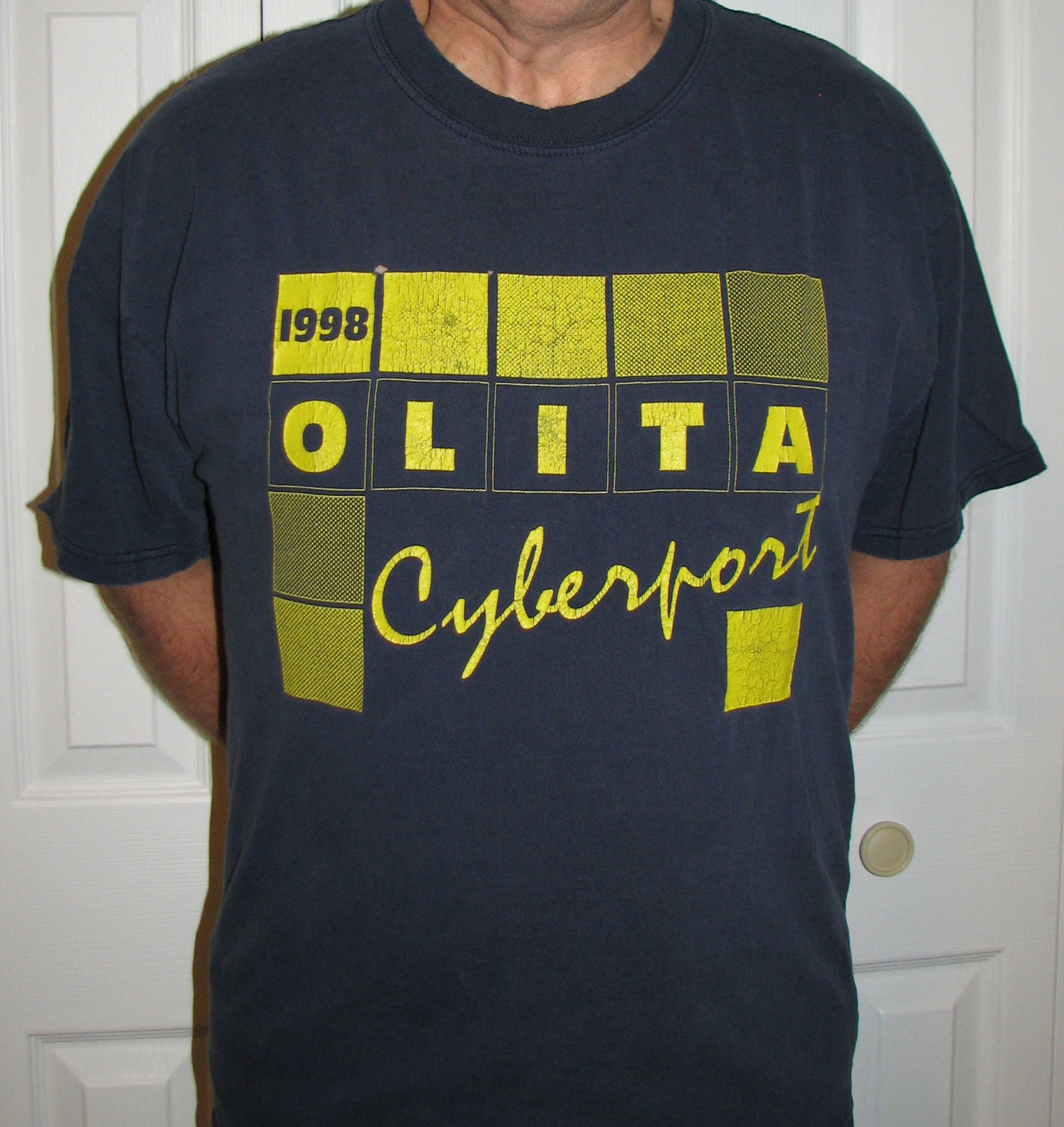 OLITA Cyberport 1998 Guide tshirt