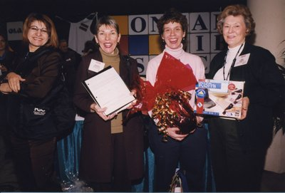 Delegate prize winners at Super Conference 2000