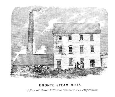 Bronte Steam Mill (drawing)
