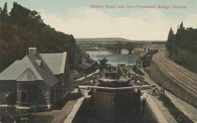 Rideau Canal and Inter-Provincial Bridge, Ottawa