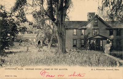 Concord, Mass. Orchard House -- Home of the Alcotts