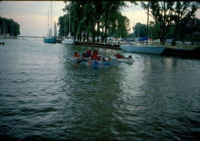 Boating on the Sixteen, courtesy of the Town of Oakville