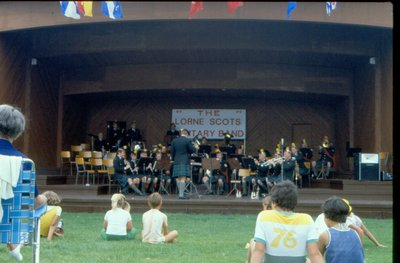 The Lorne Scots Military Band