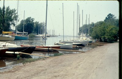 "<font color=""white"" face=""verdana"">Oakville Harbour marina, courtesy of the Town of Oakville"