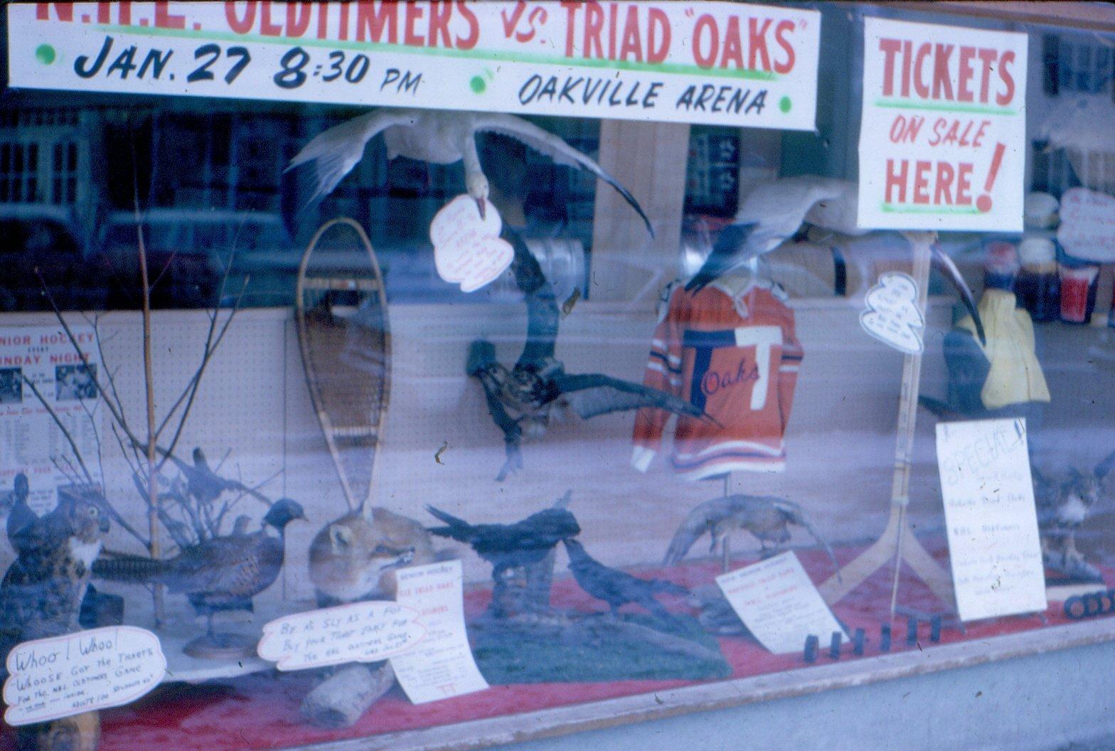 Sporting Goods Display