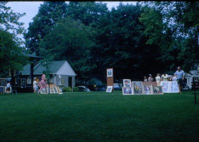 Art on the Green, <br>Courtesy of the Town of Oakville Archives