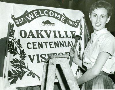 "<font color=""white"" face=""verdana"">Celebrating Oakville's Centennial"