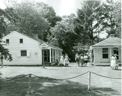 The Thomas House and the Old Post Office, courtesy of the Town of Oakville