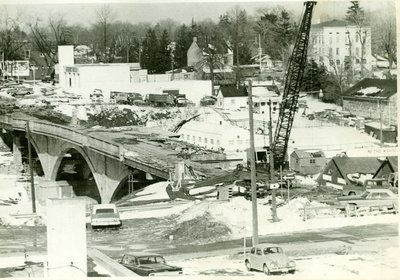 Reconstruction of Lakeshore Road Bridge.