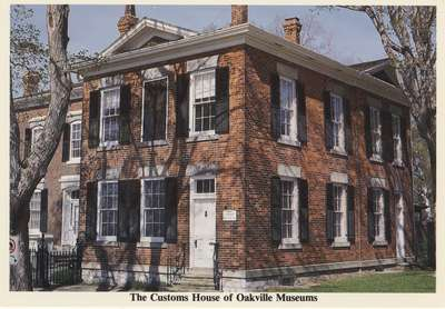The Customs House of Oakville Museums