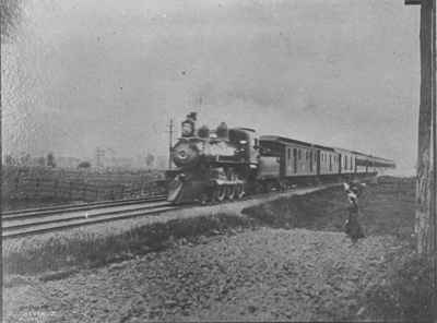 Canadian Pacific Railway (CPR) train
