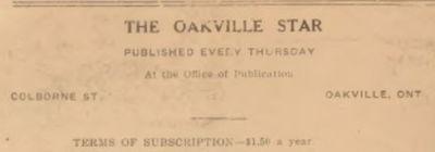 Oakville Star