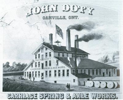 John Doty Carriage Spring & Axle Works