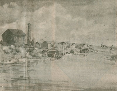Bronte fishing village