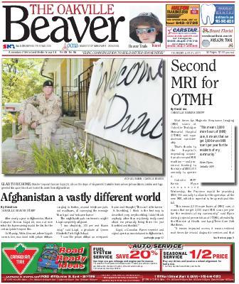 Oakville Beaver, 21 Jul 2011
