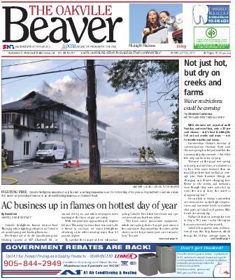 Oakville Beaver, 22 Jul 2011
