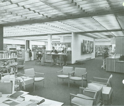 Central branch Adult Info, 1972