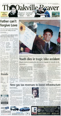 Oakville Beaver, 22 Jun 2005