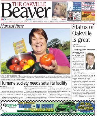 Oakville Beaver, 6 Oct 2011