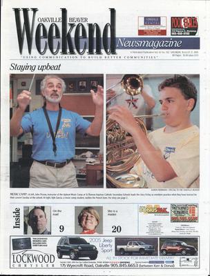 Oakville Beaver, 27 Aug 2005