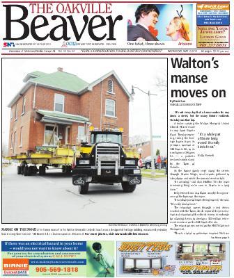 Oakville Beaver, 2 May 2012