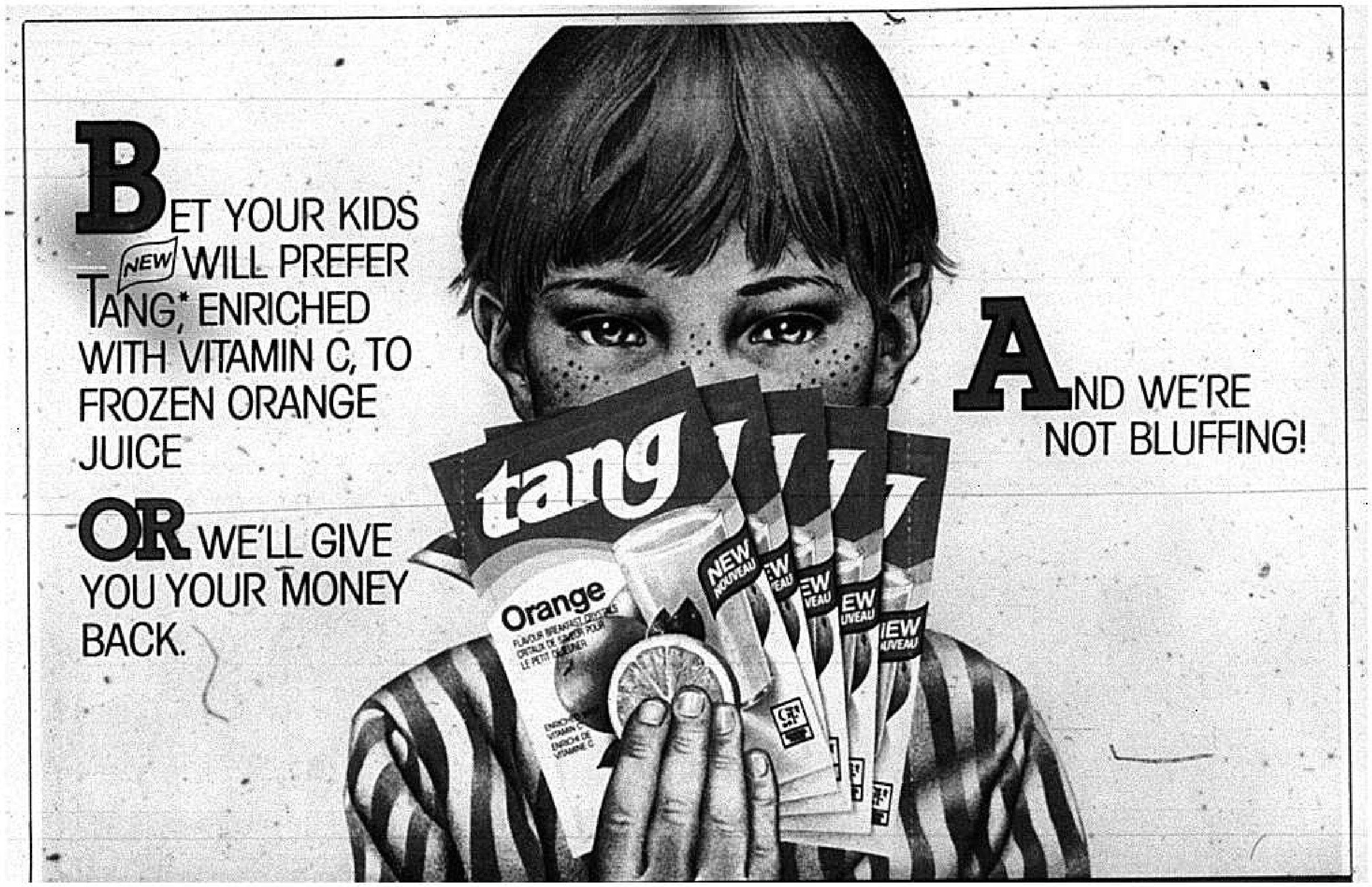 Tang Advertisement, 1983