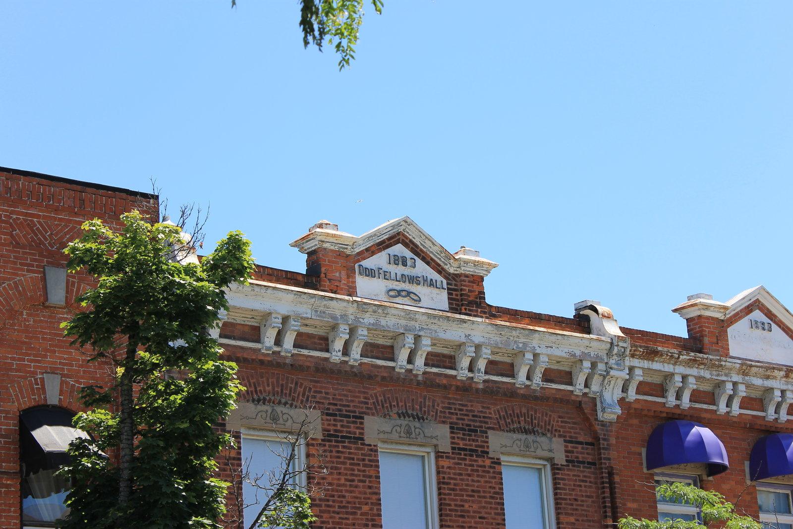 Oddfellows Hall Inscription, Current