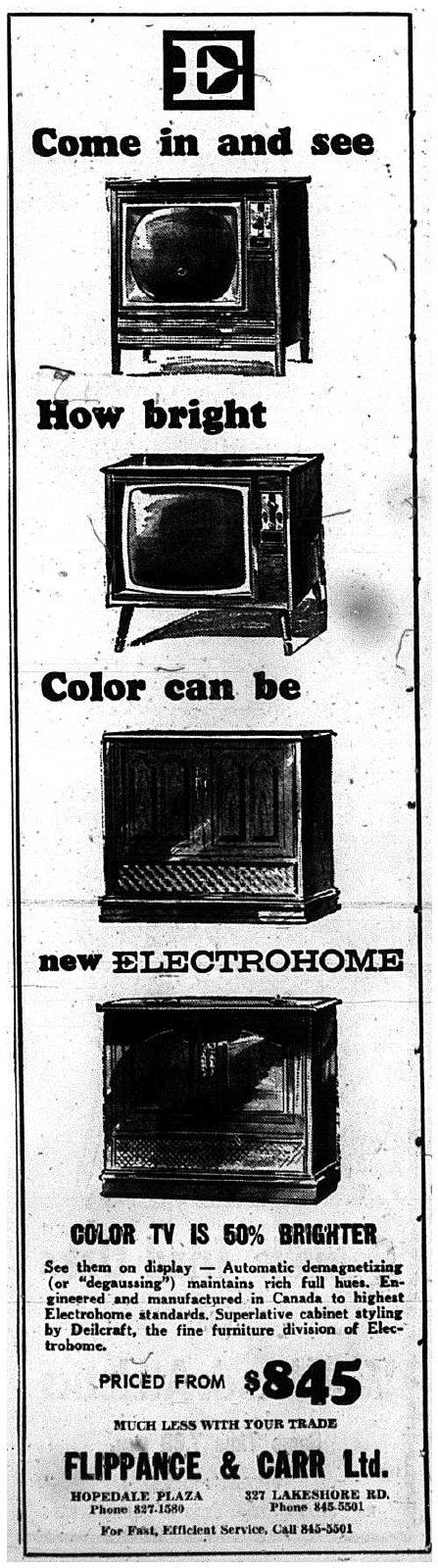 Colour TV, 1966