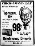 KFC Advertisement, 1966