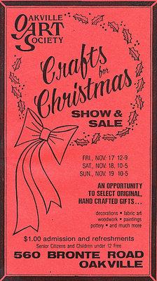 Oakville Art Society: Crafts for Christmas
