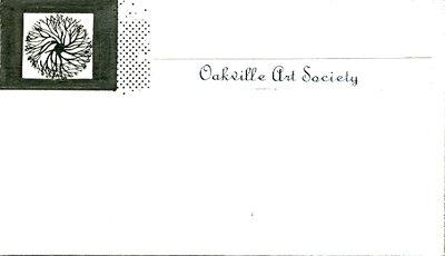 Version of 1965 Oakville Art Society Logo