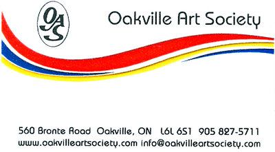 Current logo for Oakville Art Society
