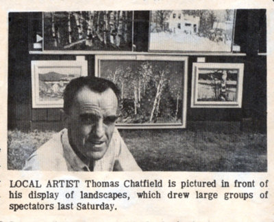 Tom Chatfield at Art on the Green